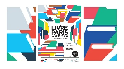 affiche du salon Livre Paris 2017