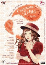 affiche de la convention du mouvement lolita 2012