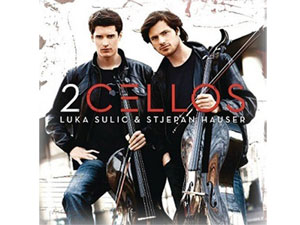 premier album des 2CELLOS Photos de © Smallz Raskind - inumaginfo.com