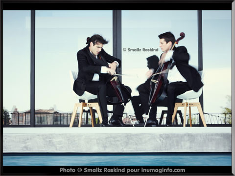 les 2CELLOS Photos de © Smallz Raskind - inumaginfo.com