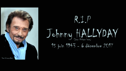 Photo Georges Biard Johnny Hallyday - magazine information video inumaginfo